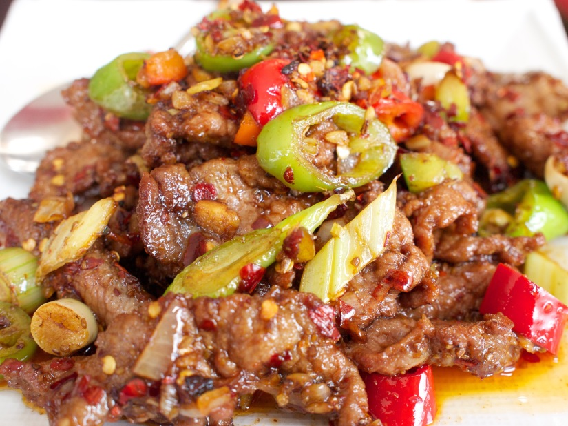 Deep Fried Beef with Cumin from Yipin China