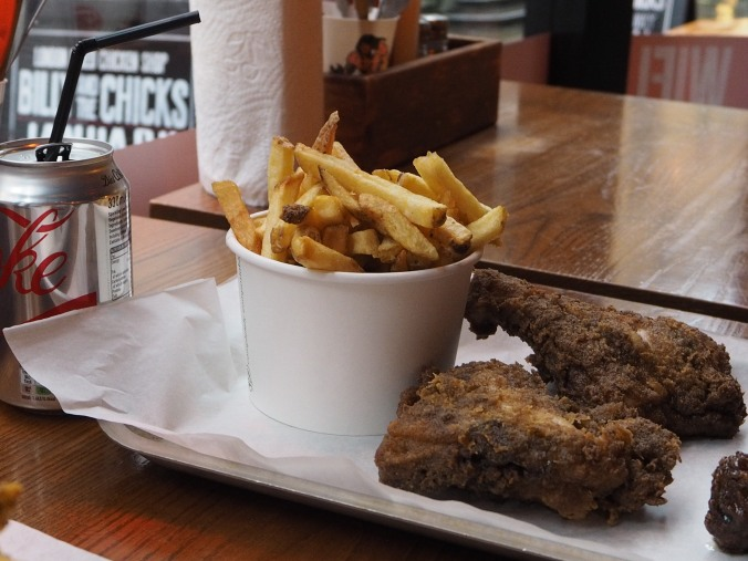 Timeout £5 voucher for 2 pcs chicken, chips and a drink