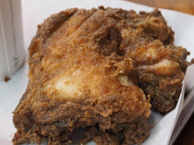 Free range fried chicken